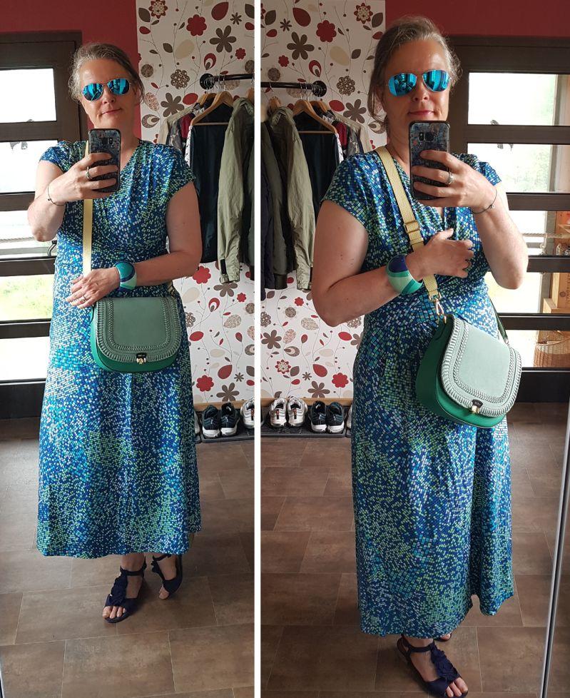 Sommerparty im Kleid mit neuer Zoe Lu Klappe