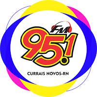 Rádio 95.1 FM 95,1 de Currais Novos - Rio Grande do Norte