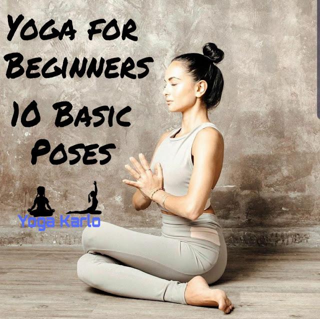 Basic Poses (Asanas) for beginners