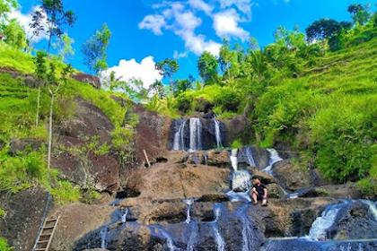 Rute dan Harga Tiket Masuk Air Terjun Kedung Kandang Gunung Kidul