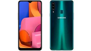 Samsung Galaxy A20s Handphone harga 2 jutaan terbaik 2020