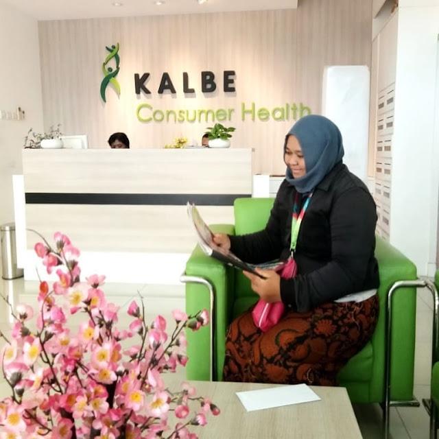 Lowongan Kerja SMA SMK D3 S1 Kalbe Consumer Health (PT. Saka Farma Laboratories), Jobs: District Sales Promotion Supervisor, Teknisi Staff, Area Activation Supervisor, Analisis Kimia.