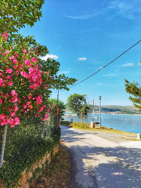 Seline, plaża, Chorwacja, czysta i ciepła woda