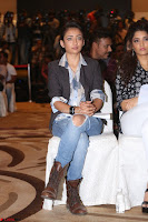 Akshara Haasan in Denim and Shirt with Jacket at IIFA Utsavam Awards press meet 27th March 2017 05.JPG