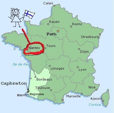 Mon Annee En France Ville De Nantes