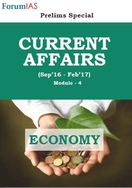 Economy Current Affair- Forum IAS