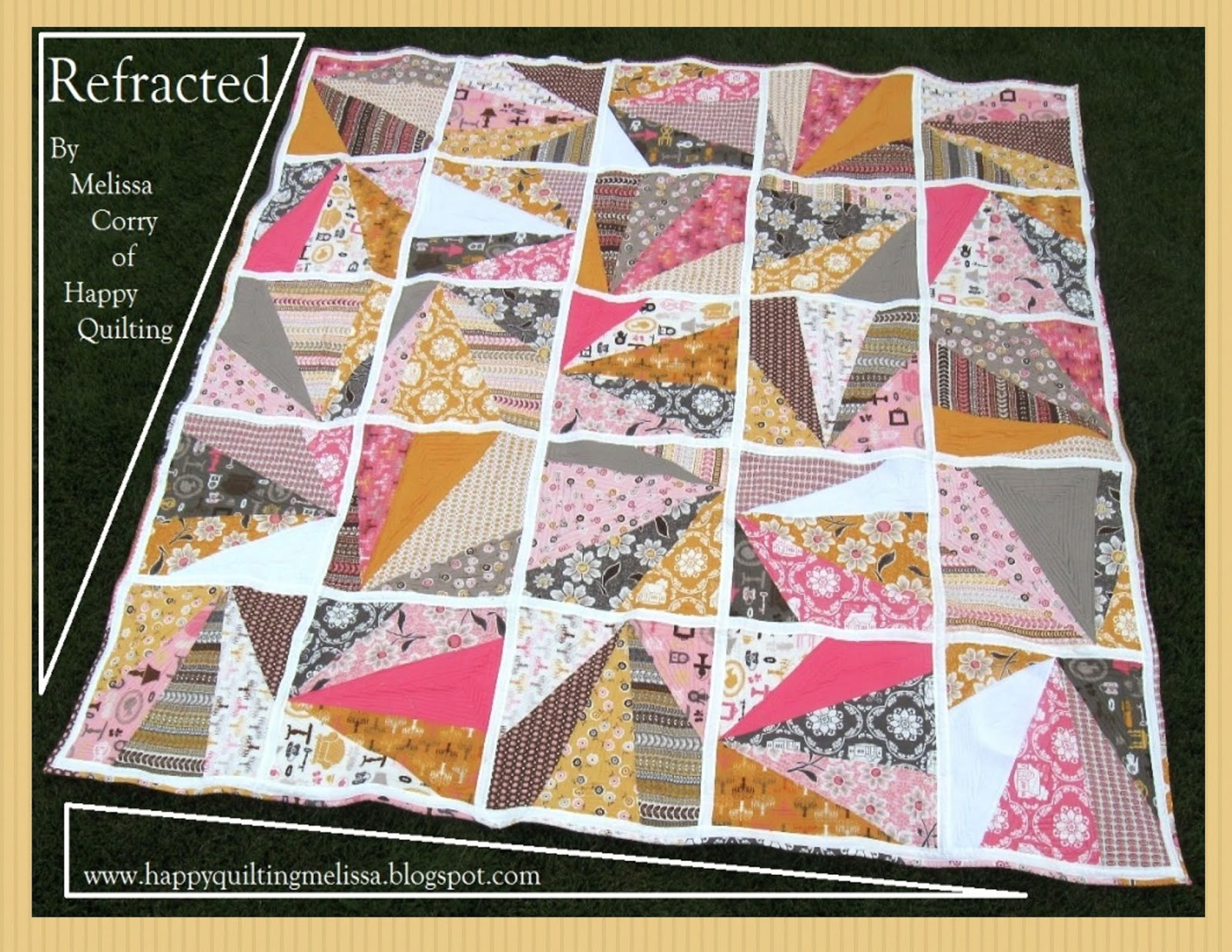 Happy Quilting Tutorial Throwback Thursday Refracted