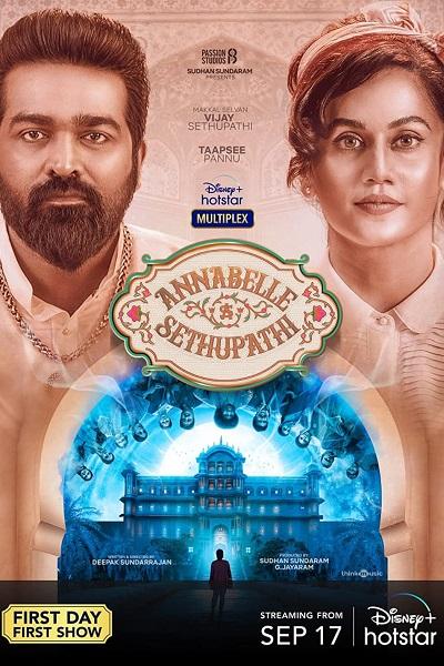 Download Annabelle Sethupathi (2021) Hindi 720p + 1080p WEB-DL ESub