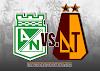 Este es el día y la hora para la 'ida' de los 'cuartos' de la Copa Águila 2019, entre Nacional y DEPORTES TOLIMA