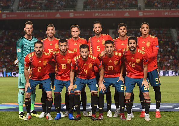 مباراة اسبانيا بث مباشر
