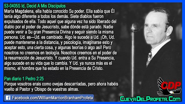 Nosotros no creemos en teología - William Branham en Español
