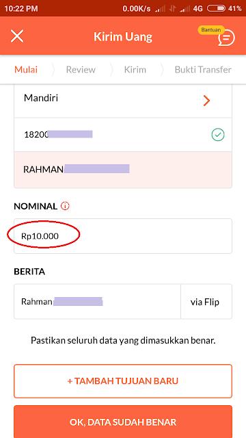 Cara Transfer Tanpa Biaya Admin Menggunakan Aplikasi Flip