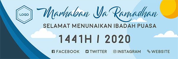 Desain Banner Ramadhan 2020