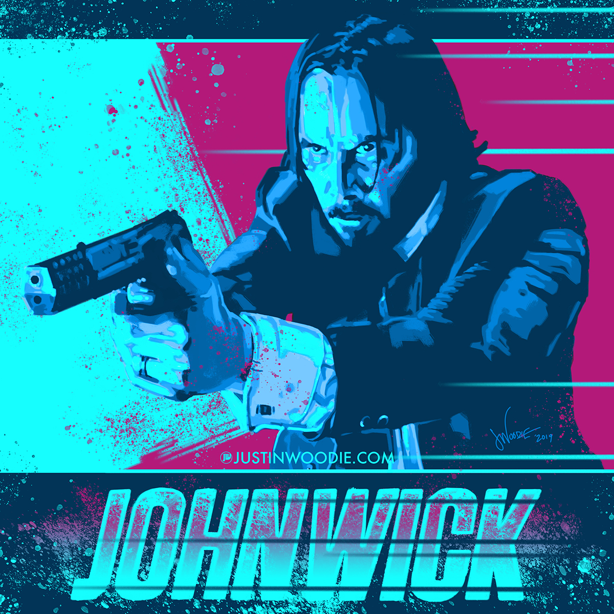 John Wick Digital Illustration