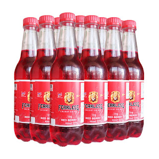 Fearless Red Berry Energy Drink 500ml x 12