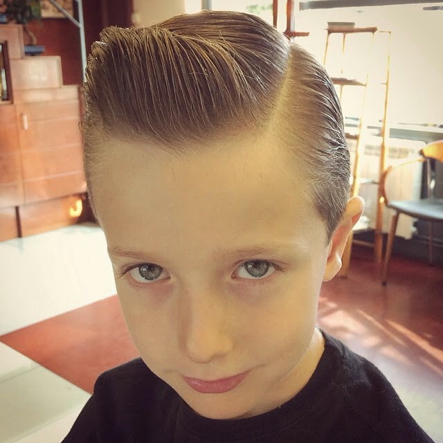 Baby Pompadour Style Pomade Indonesia
