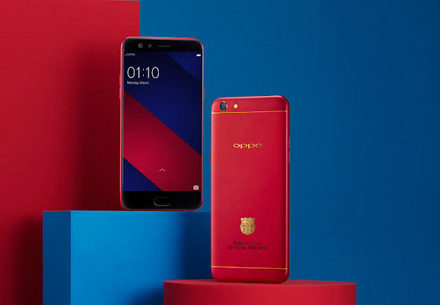 Win a Limited Edition FC Barcelona OPPO F3!