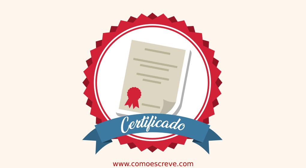 Cursos on-line com Certificado