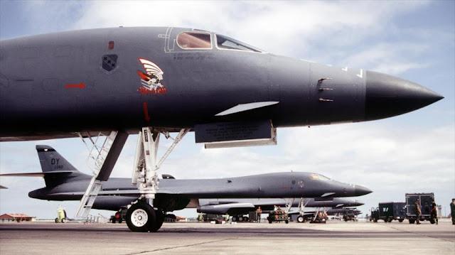 """EEUU envía bombarderos y militares a Guam para """"disuadir"""" a China"""