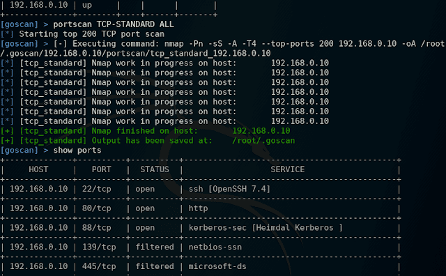 GoScan Interactive Network Scanner