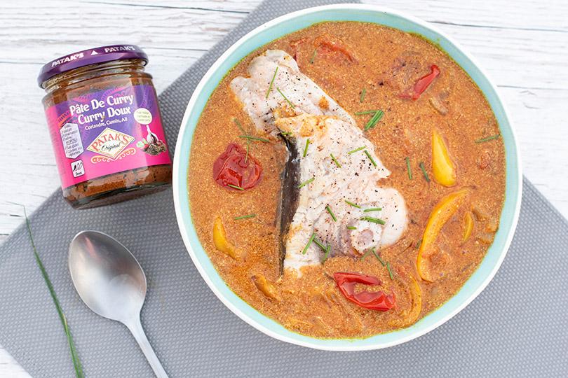 recette Espadon au curry