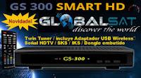 globalsat - GLOBALSAT ATUALIZAÇÃO GS300