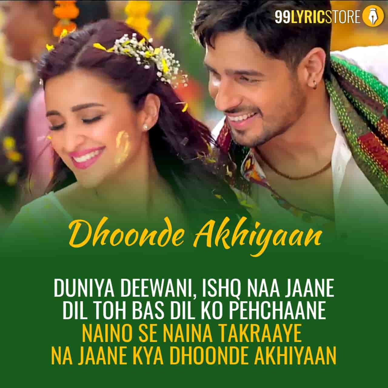 Dhoonde Akhiyaan Hindi song sung by Yasser Desai