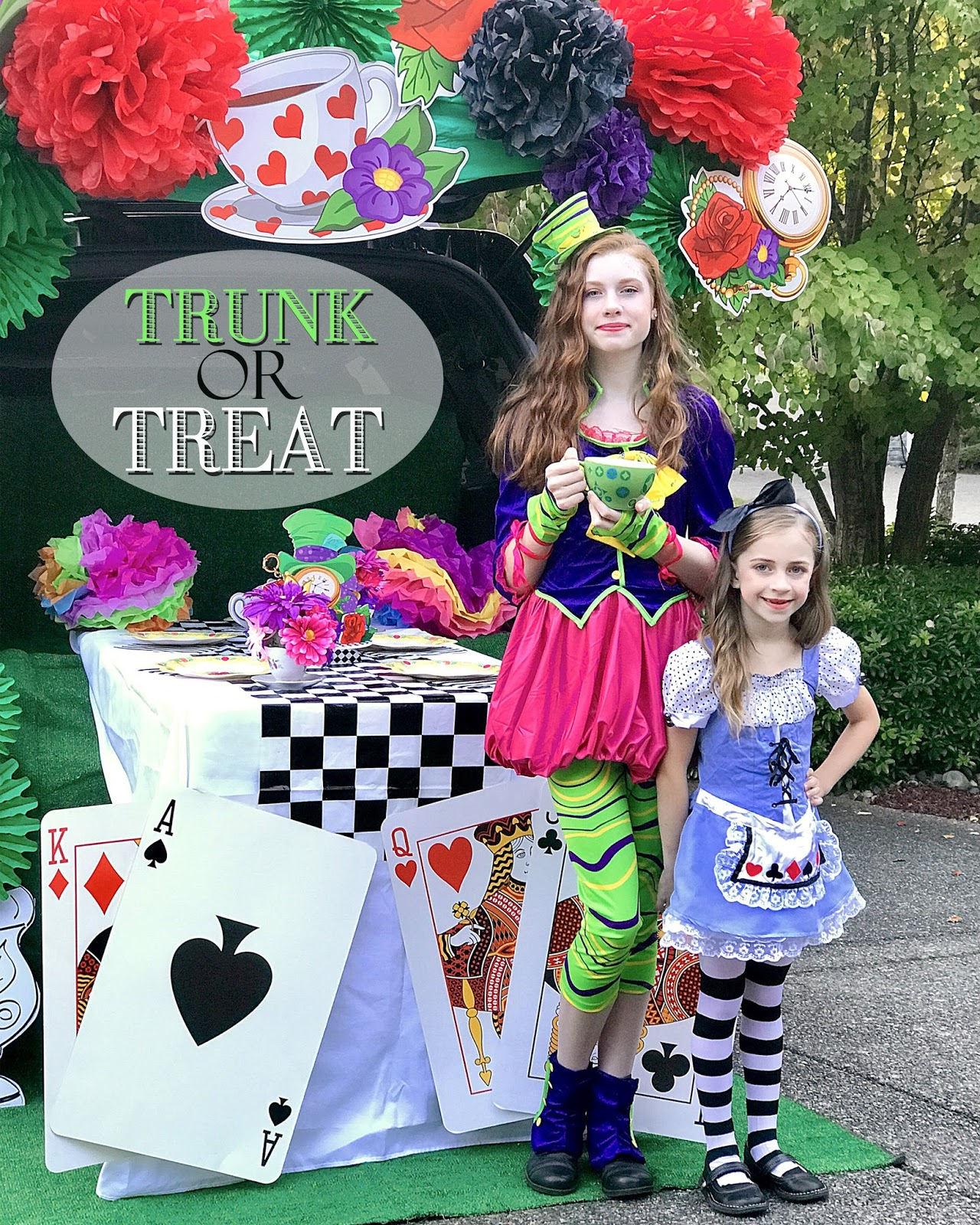 A Lovely Design Trunk Or Treat