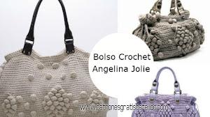 Cómo Tejer Bolso Crochet de Angelina Jolie