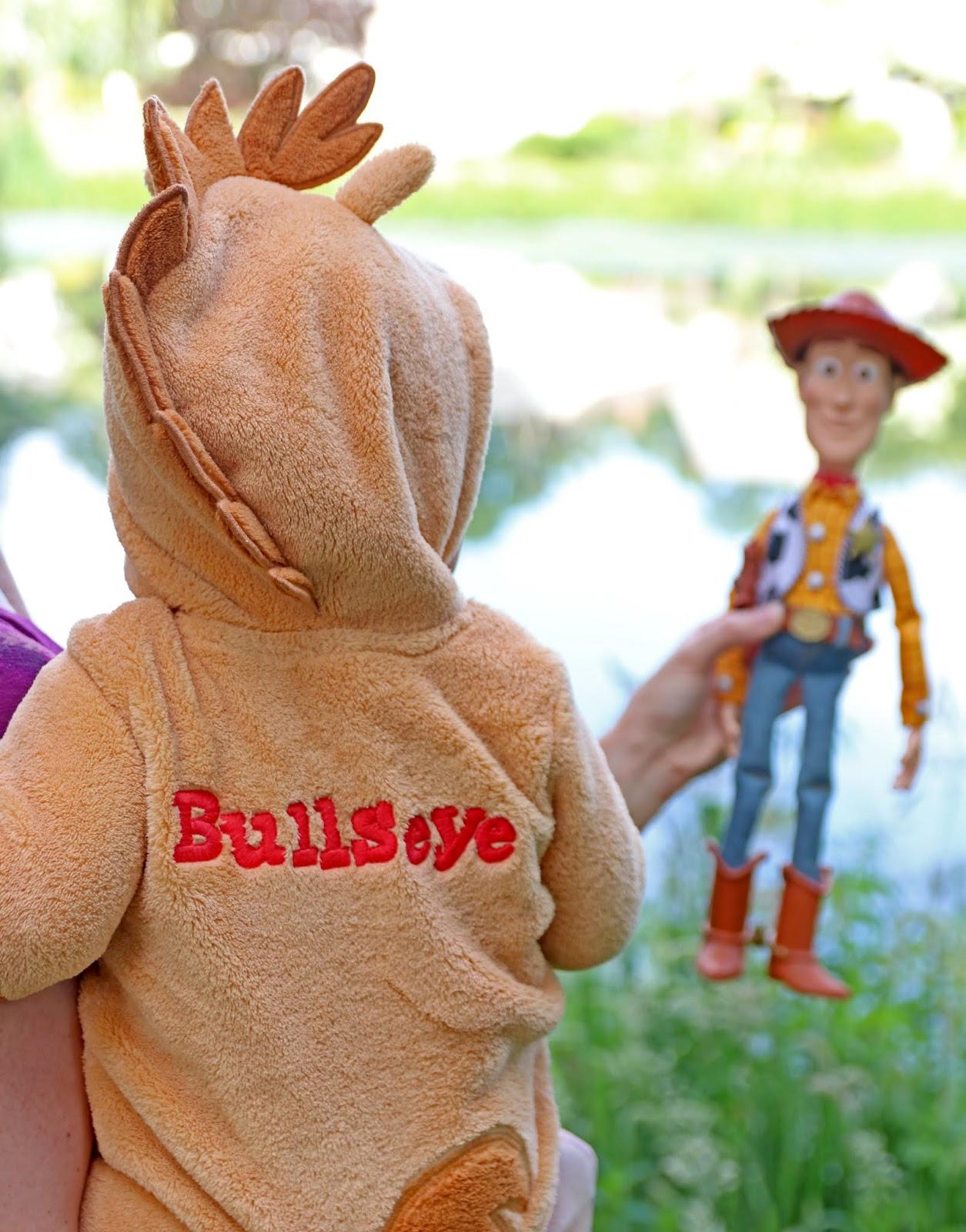 Toy Story Bullseye Costume Romper for Baby