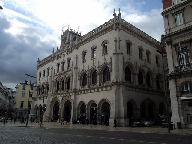 Estación de trenes Rossio, Lisboa
