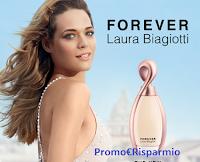Logo Laura Biagiotti ''Forever'': campione omaggio da richiedere gratis
