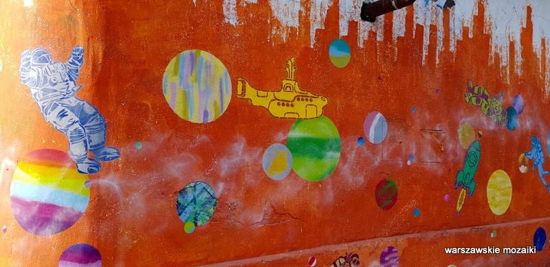 Warszawa Warsaw warszawskie murale streetart street Praga Północ raskie klimaty