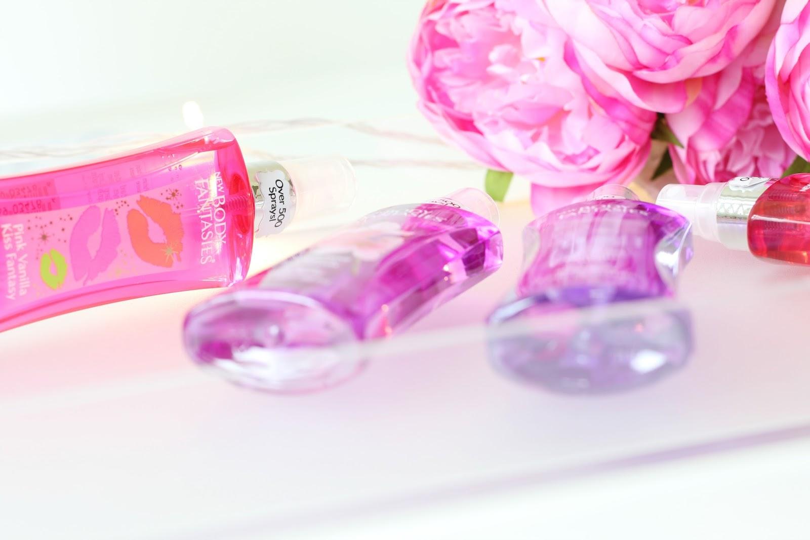 Beauty, Body Fantasies, Body Fantasies UK Launch, Make Up, Drugstore Beauty, Superdrug, Body Fantasies flavour, Body Fantasies Japanese Cherry Blossom, Body Fantasies  Pink Grapefruit Fantasy, Body Fantasies Twilight Mist, Body Fantasies Pink Vanilla Kiss Fantasy
