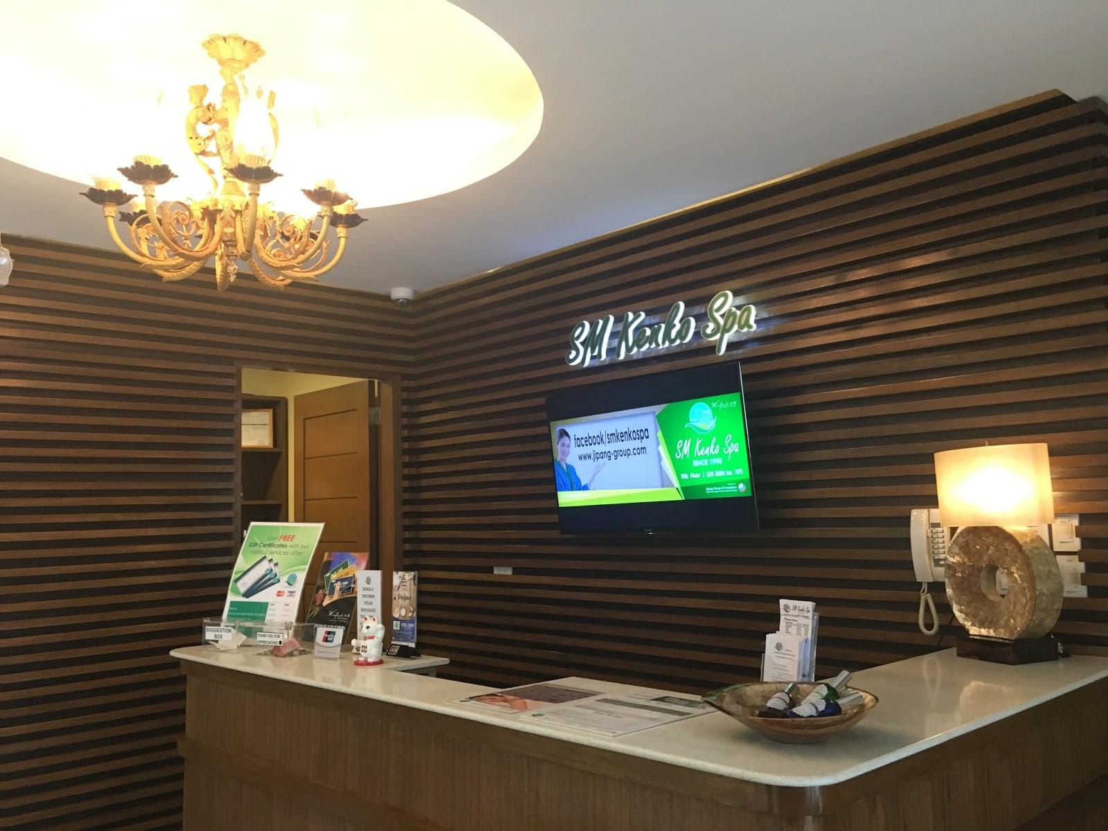 SM KENKO SPA IN WINFORD HOTEL MANILA