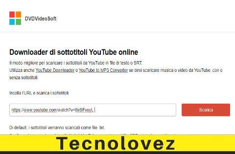 Come scaricare sottotitoli da YouTube con Free Youtube Subtitles Downloader