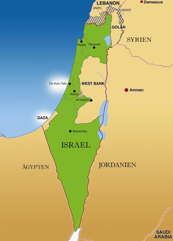 Israel Jerusalem Karte.Jerusalem Heute Karte