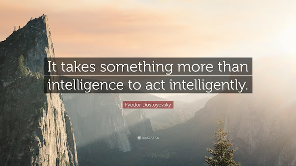Is intelligence enough?