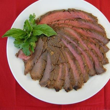 Asian Marinated Flank Steak