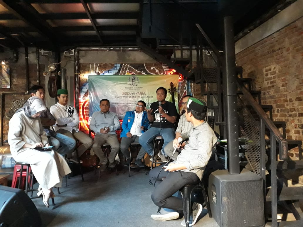 Badko HMI Jawa Barat Gelar Diskusi Sebagai Komitmen Mahasiswa Dalam Menjaga Kesatuan