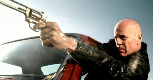 Brad Pitt e Iron Man... todos quieren matar a Bruce Willis