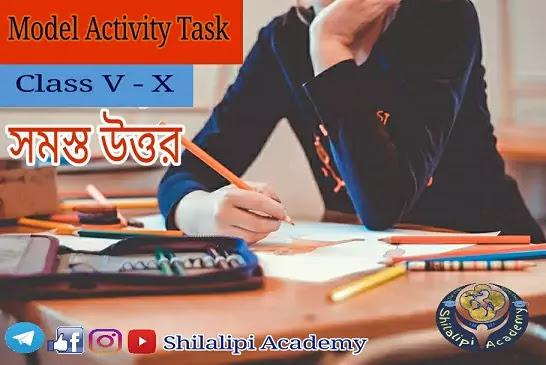 Model Activity Tasks: Class 5, Class 6, Class 7, Class 8, Class 9 & Class 10