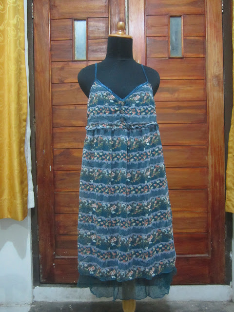 Dress Navy Natural Ukuran M ( DR 2 )