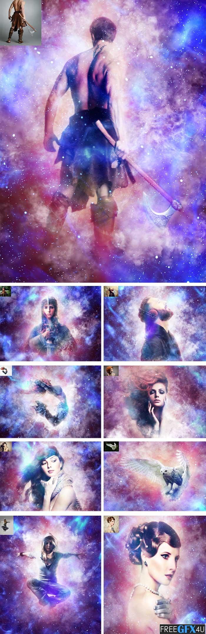Supernova CS4+ Photoshop Action