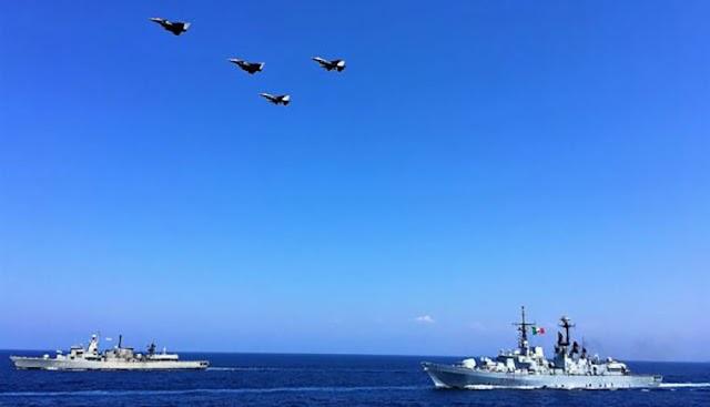 Η Γαλλοιταλική Pax Mediterranea «βυθίζει» την τουρκική «Γαλάζια Πατρίδα»