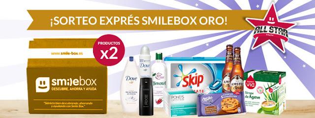 SmileBox: sorteo de 5 #SMILEBOXALLSTAR