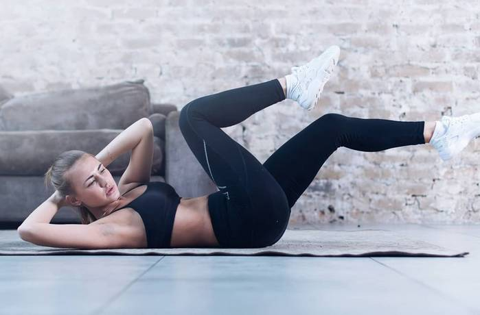 Firming Butt and Abs Exercises for Women