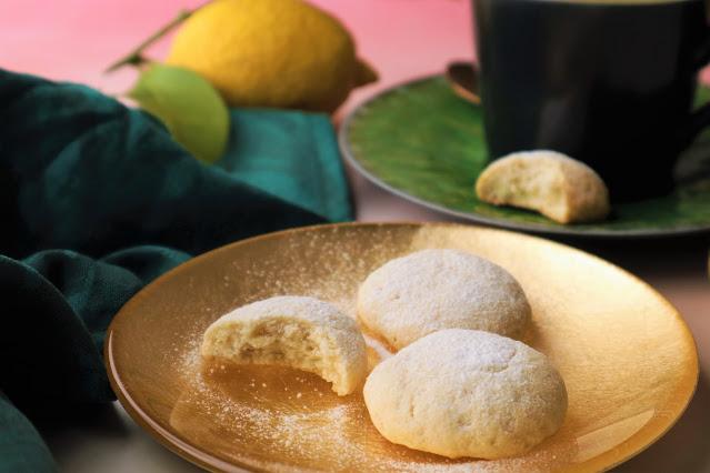 Biscoitos de Baunilha e Limão