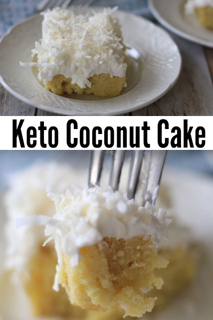 THE BEST KETO COCONUT CAKE: CREAMY, DELICIOUS & HOMEMADE