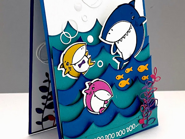 NEW Shark Frenzy Bundle by Stampin' Up!® baby... shark!!!